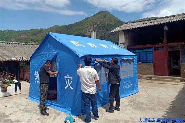镜头 | 众志成城 纪检监察干部全力以赴抗震救灾